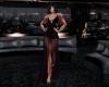 Black Organza Gown