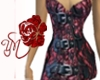 (Y) Red Sexy Lace Dress