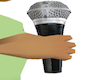Hold mic/no mic