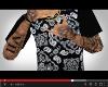 Bandana W. Black Sleeves