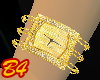 (B4) Gold Watch bangle
