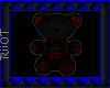 Black & Red Bear