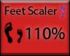 [Cup] Feet Scaler 110%