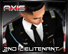 AX - USA 2nd Lieutenant