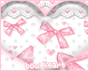 Pink Bow Heart