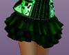 Layered Green Skirt