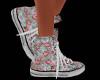 Summer Flowers Sneakers