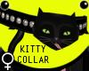 Blac Diamnd Kitty Collar