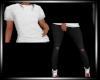 Skinny Jeans&TOP-BLACK