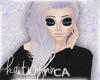 navi hair   lavender