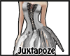 Silver Feather Dress