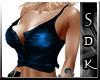 #SDK# Blue Sexy Top