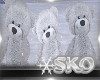 *SK*WINTER SNOW BEARS