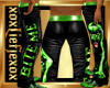 [L] BITE ME Green PantsM
