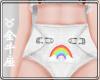 ♉ Baby Diaper- Rainbow