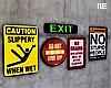 ϟ   Signs