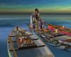 Boho Canoe Dining