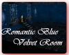 Romantic Blue Velvet