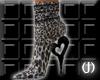 (J)Cheetah short boots