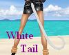 ! White Cat Tail !!!