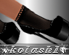 K*Shoes socks DD Black