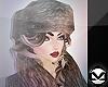 m> Posh Fur Hat 1