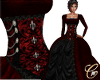 Medieval Royalty Red Blk