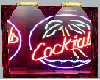 COCKTAILS wall hanging