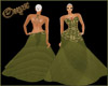 (XXL)Green Dress