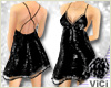 ! Vici-Sexy Sequin Black