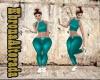 Turquoise Pants RLL