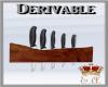 E.A. Deri Kitchen Knives