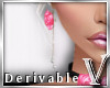 Derivable Rose Earrings