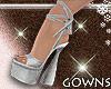 Vera's heels silver