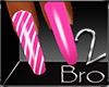 bro-English Pink Nails