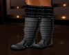 GRAY BOOTS +LEG WARMERS
