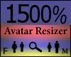 Any Avatar Size,1500%