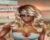 Blonde Heather Feather