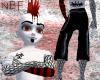 Black/red fishnets -00