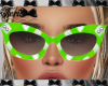 Green Gingham Shades