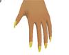 NY Eve Gold Glitz Nails