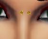upper nose piercing gold