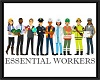 Essential Workers sign