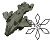 Pelican Dropship Flying