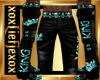 [L] KING Teal Pants M