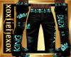 [L] KING Teal Pants M
