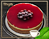 V Cranberry Cheesecake