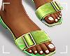 ṩSummer Slippers lime