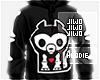 !J Skeleton Coon Hoodie