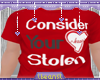 lBl Heart Stolen T